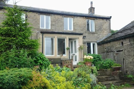 Double/twin in 17C cottage & Hottub - Holmfirth - 独立屋