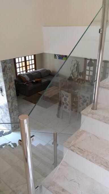 Escada/sala de estar