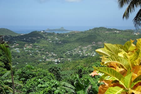 What a view – and with apartment! - Rodney Bay