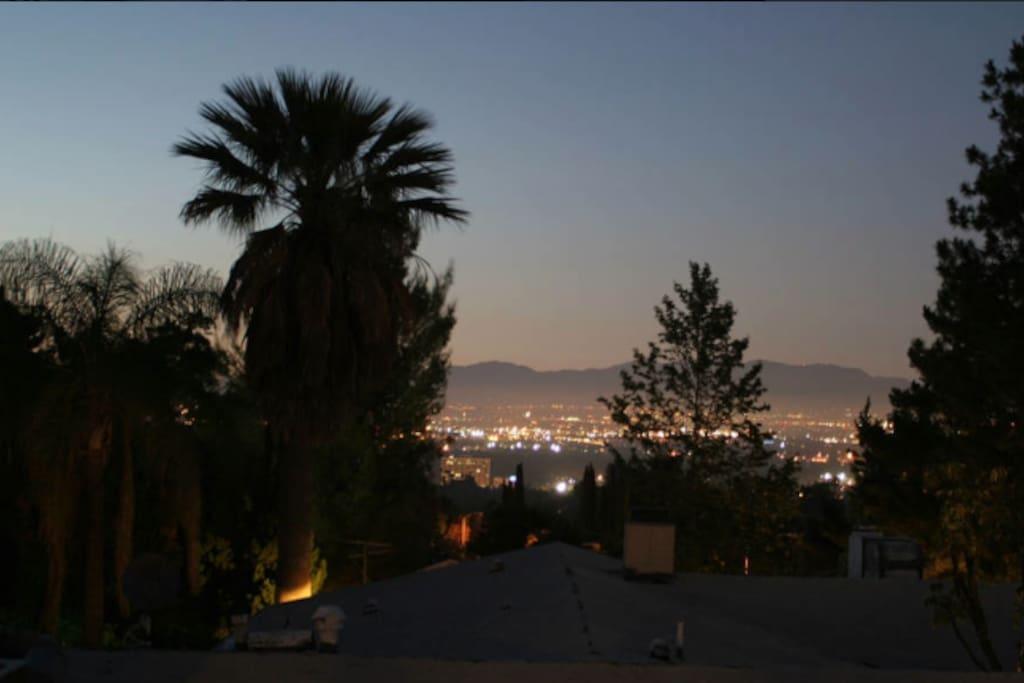 View north, overlooking San Fernando Valley
