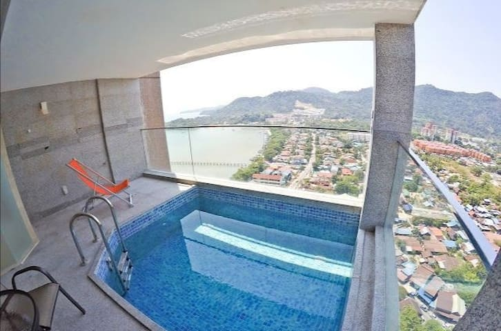 Enjoy Tranquil Penang from above with Private Pool