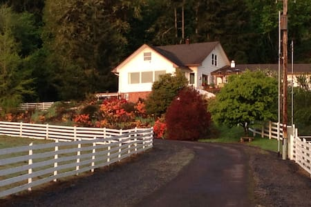Close to Corvallis, OR & OSU, Gorgeous Guest Home - Philomath - Bungaló