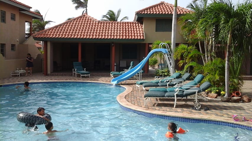 Club house and the main pool area are for your enjoyment