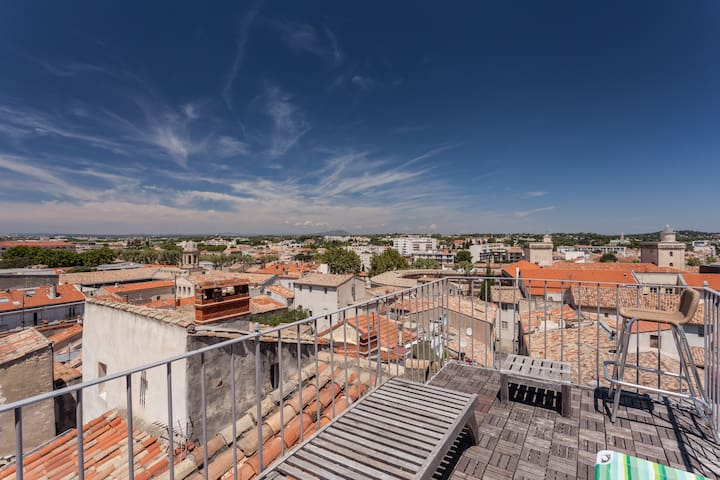 ROOF TERRACE WITH 360° VIEW