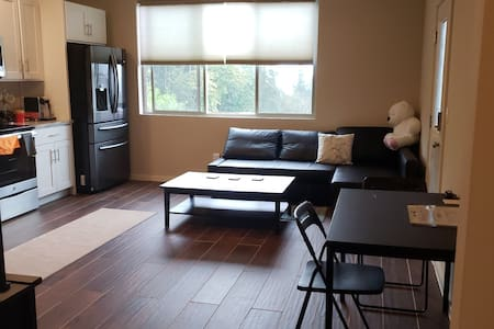 Private New Suite with  Laundry and Full kitchen