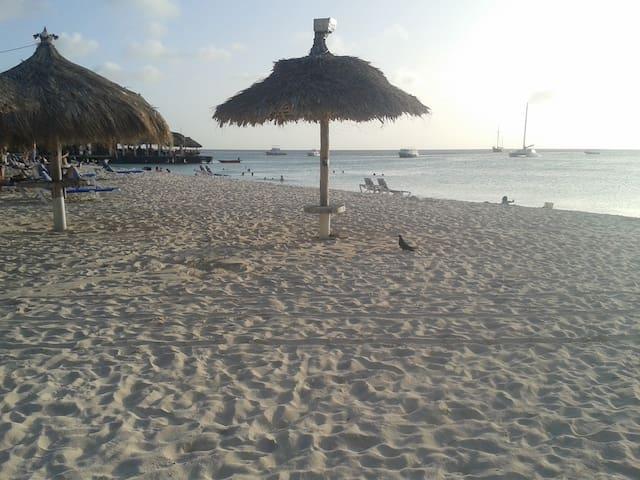 All Aruba beaches are public & free
