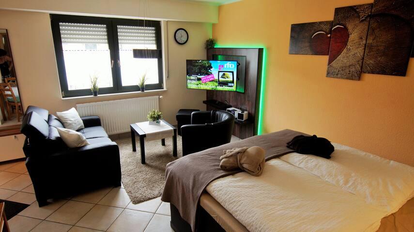Cooles Ferienzimmer im Rheintal - Sankt Goar - Huoneisto