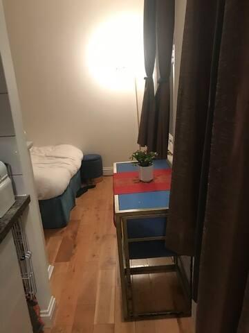 Cozy studio in West Brompton
