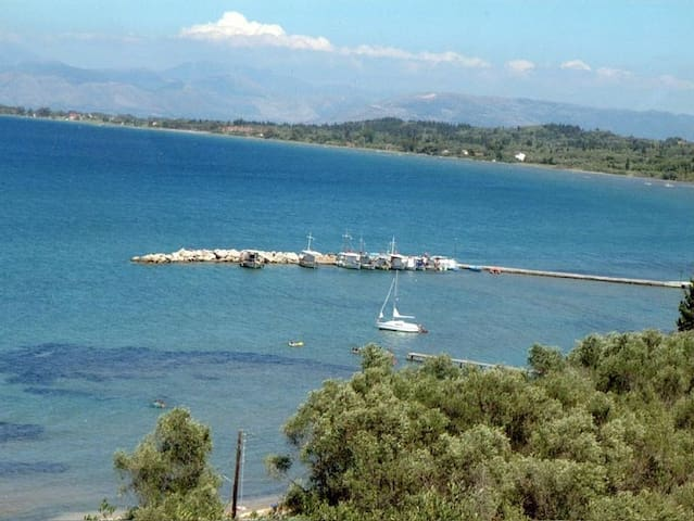 kaliviotis harbour nearby, just a 3 minute walk way along the beach.