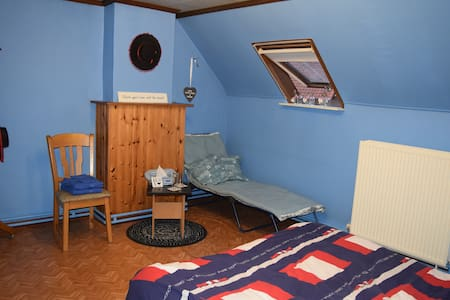 Blue Room for Two - House