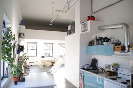 SPACIOUS LIVE/WORK SHARED LOFT - Brooklyn - Loft