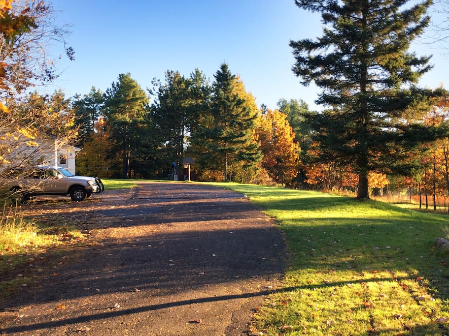 Driveway access from Highway 26