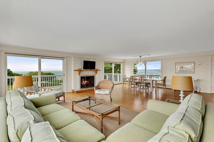 Ocean & Harbor Views | Watch Hill Home