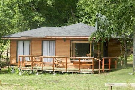 Cabaña de ensueño cerca de Termas, lagos, bosques.