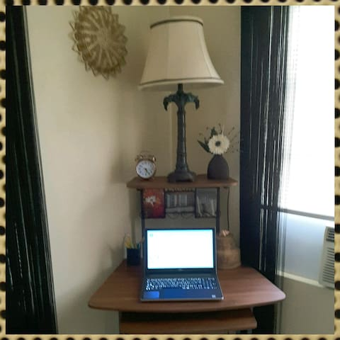 Second Bedroom w/desk  corner