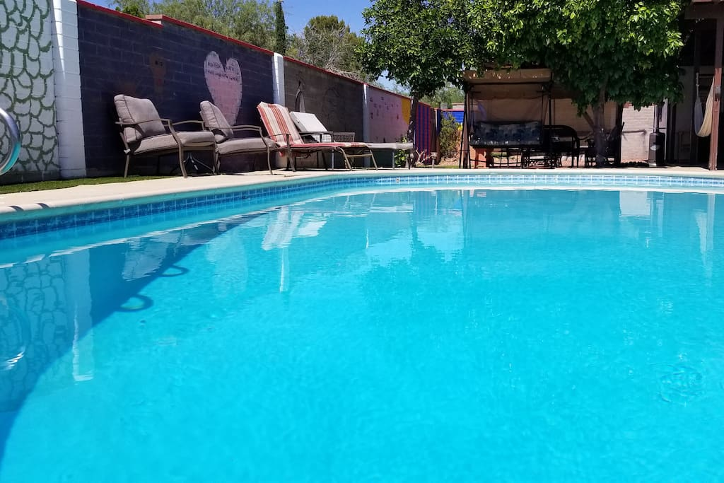 The pool is just waiting for you!
