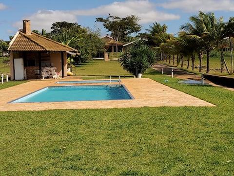Casa com vista na Ilha do Sol