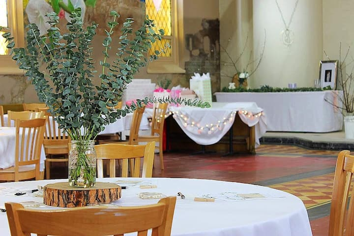 Affordable event space with charm and class