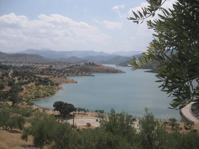 Las Casillas Lake