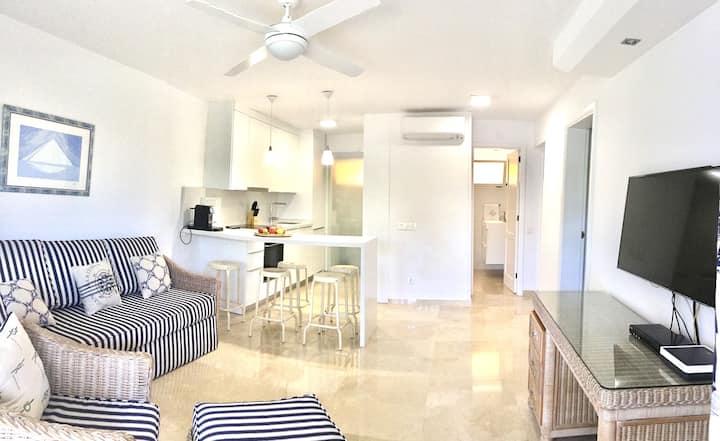 Apartamento junto a la playa