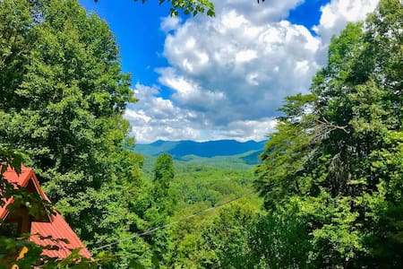 Spectacular Valley Views - Smoky Mountains | Bryson City | Cherokee NC
