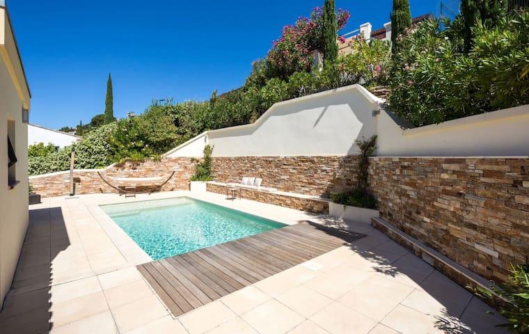 Apartment with pool - Le Lavandou