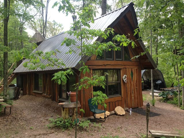 Fisher Cat Creek Forest Retreat