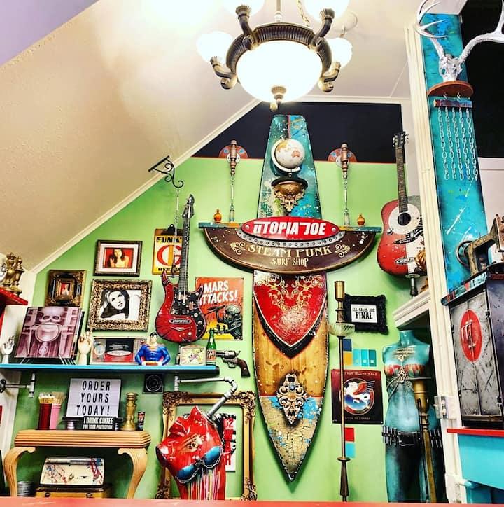 Utopia Joe Steampunk Surf Shop
