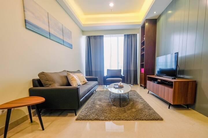 Good View 2BR Apartment at Pondok Indah Residence