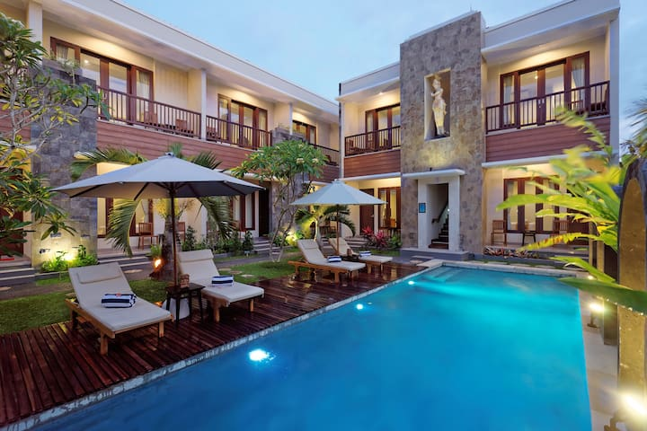 U TUBE HOTEL AND SPA. DELUXE ROOM [Room Only] - South Kuta - Gjestehus