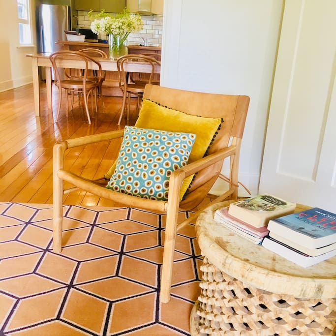 Cosy chair and corner  to read
