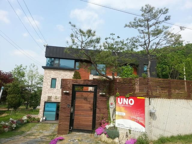 1층:들꽃실,  2층:꽃차실 - Yangji-myeon, Cheoin-gu, Yongin-si - Hus