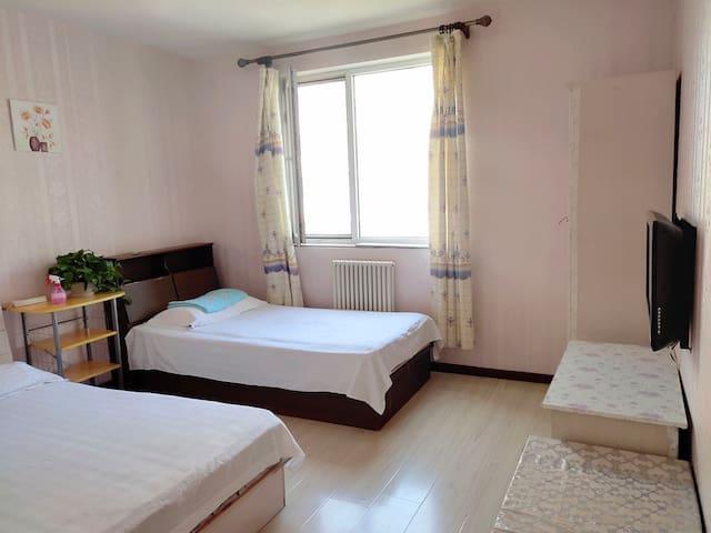 中国医学科学院肿瘤医院对面  温馨两室一厅一厨一卫套房