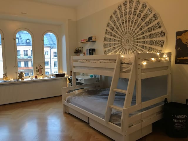 Spacious room in central Stockholm!