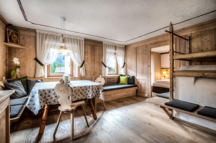 Pescosta Dolomites Chalet - Stöa - San Vigilio - Apartment