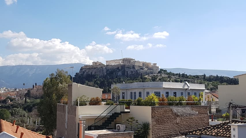 Next to Acropolis view unique apartment
