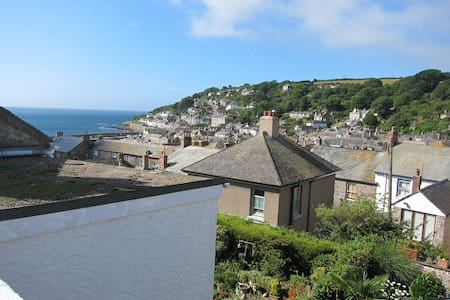 Roof terrace views over Mousehole - Mousehole - Talo
