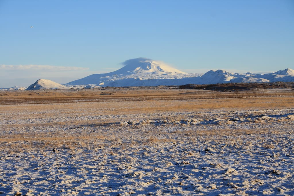 Hekla seen from Kaldbakur
