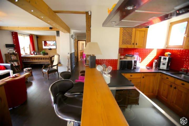 Grande maison 10min LA CLUSAZ, LAC ANNECY + 2Vélos - Thônes - House