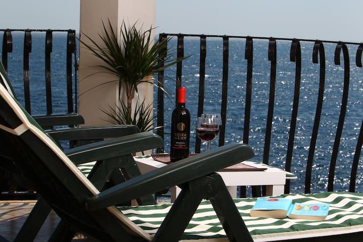 Splendida casa e vista mozzafiato sul mar Jonio - 阿奇雷亞萊 - 公寓