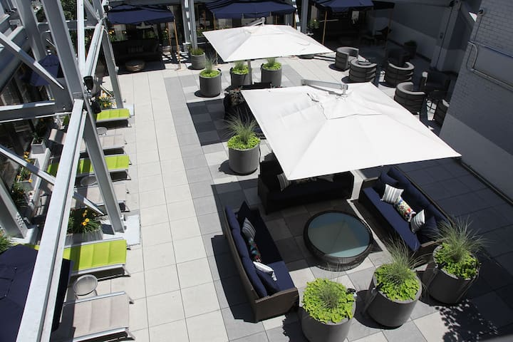 outdoor rooftop