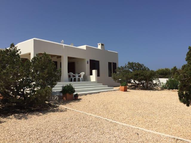 Belle maison vue mer - Formentera  - Дом