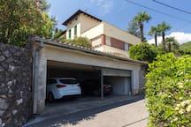 Vacation Studio in Opatija center sea view garage