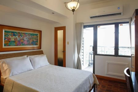 Cozy 1 Bedroom very near Greenbelt - Makati City - Appartement