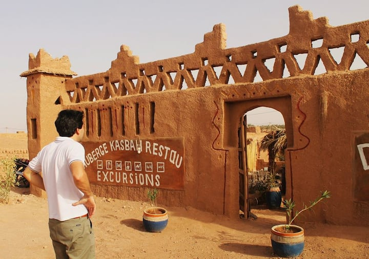 Comfortable and Authentic Saharan Guesthouse