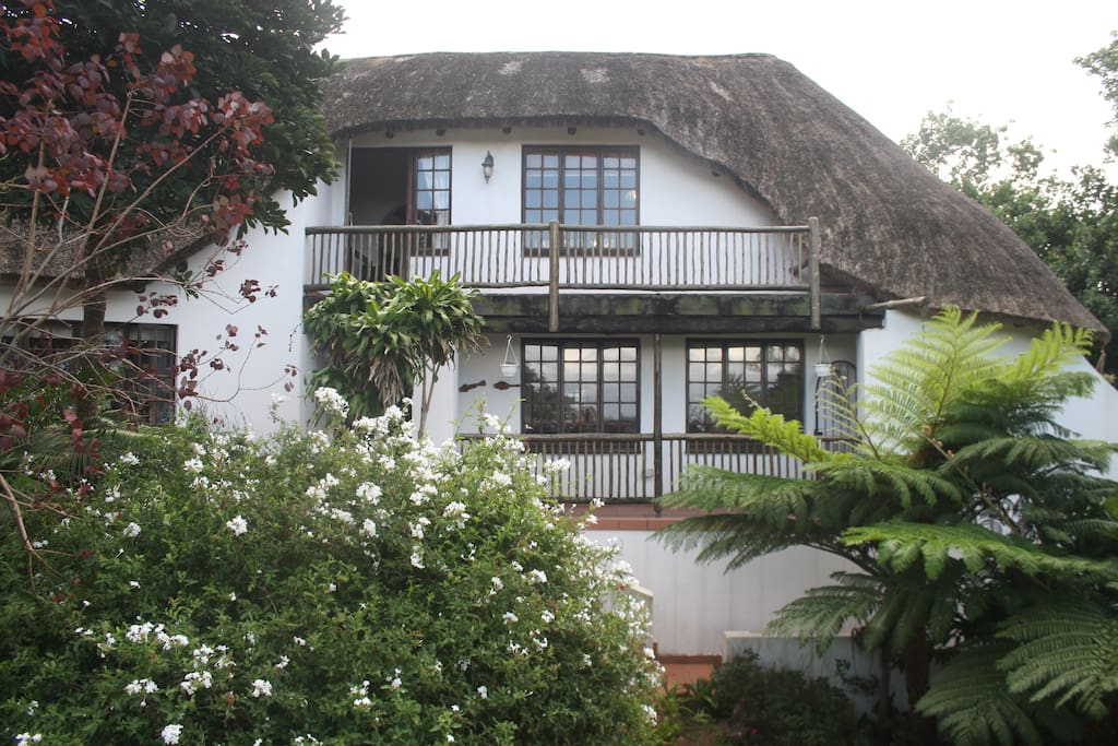 Quaint double storey thatch for that perfect holiday.