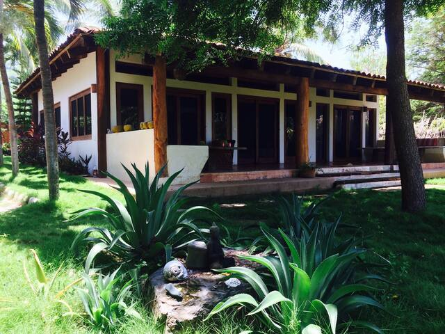 Casa del Mangle, beach front Villa. - Troncones - Ev