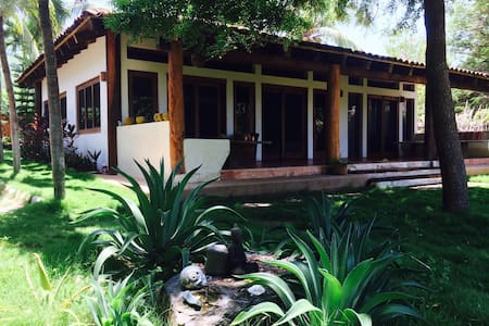 Casa del Mangle, beach front Villa. - Troncones