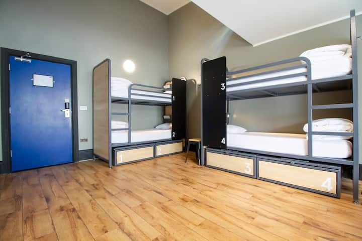 Generator - Bed in 6 Bed Dorm Private Facilities