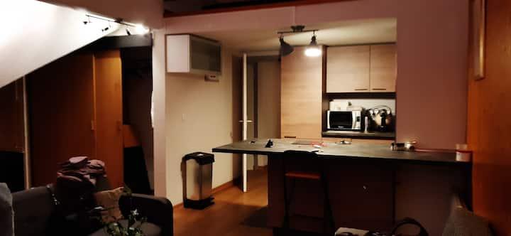 location chambre individuelle au cœur des 2 Alpes